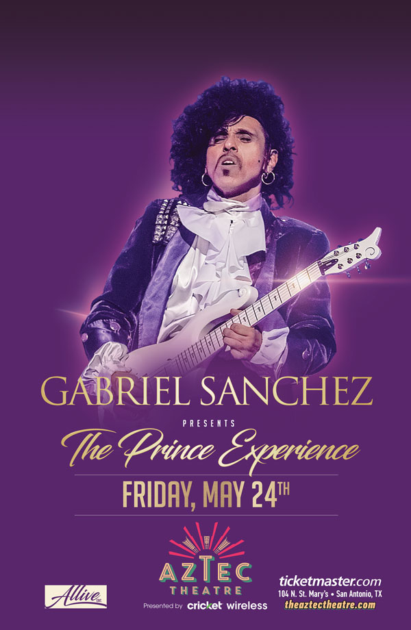 prince tribute concert at the aztec theater